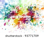 abstract colorful background.... | Shutterstock .eps vector #93771709