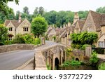 Picturesque Cotswold Village Of ...