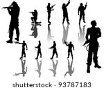 Soldier Group   Silhouette