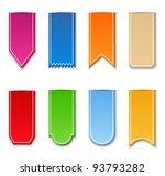vector ribbons | Shutterstock .eps vector #93793282