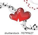 abstract valentine days... | Shutterstock .eps vector #93799627