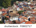 Arbucies old village, Girona, Spain - stock photo