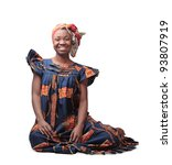 Smiling African Woman In...