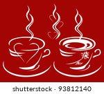 Raster   Cup Of Coffee Or Tea...