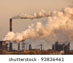 Chemical Factory With Smoke...
