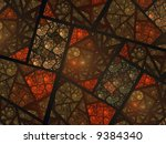 Earth Toned Stained Glass...