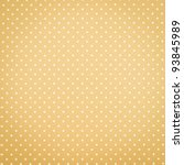 Yellow Polka Dot Background