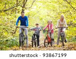 families with children on... | Shutterstock . vector #93867199