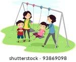 illustration of a family having ...   Shutterstock .eps vector #93869098