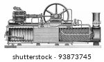 Vintage Composite Hot Steam...