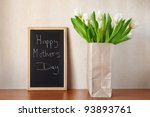 happy mother's day  | Shutterstock . vector #93893761