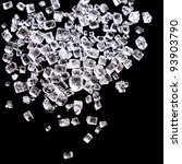 Sugar Or Salt Crystals Macro...