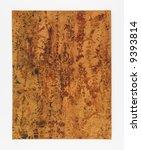 photograph of a sheet of brown... | Shutterstock . vector #9393814