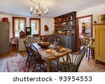 An Image Of A Dining Room And...