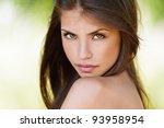 portrait of beautiful sexy... | Shutterstock . vector #93958954
