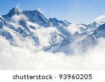 alpine alps mountain landscape... | Shutterstock . vector #93960205