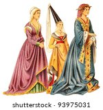 Noblewomans  Late Middle Ages ...