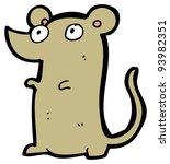 little mouse cartoon  raster... | Shutterstock . vector #93982351