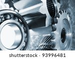ball bearings and pinion wheels ... | Shutterstock . vector #93996481