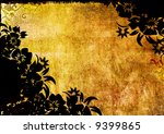 floral style backgrounds frame | Shutterstock . vector #9399865
