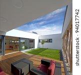 beautiful new peaceful  modern... | Shutterstock . vector #94017742