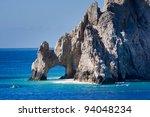 El Arco Rock Formation In...