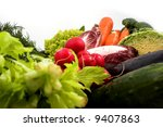 various colorful vegetables | Shutterstock . vector #9407863
