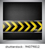 dark metallic abstract...   Shutterstock .eps vector #94079812