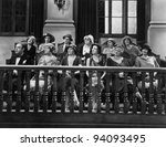TRIAL BY JURY - stock photo