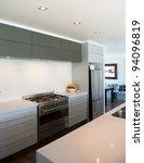 photo of a modern interior...   Shutterstock . vector #94096819