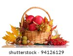 Beautiful Autumn Harvest In...