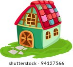 illustration of isolated... | Shutterstock . vector #94127566