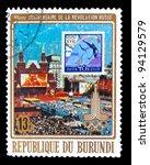 burundi   circa 1960  a stamp... | Shutterstock . vector #94129579