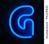 Highly Detailed Neon Sign With...