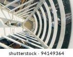 view from glass floor... | Shutterstock . vector #94149364