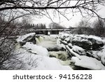 hog's back falls located on the ...