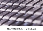 arty picture of laptop keys | Shutterstock . vector #941698