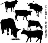 cow | Shutterstock .eps vector #94189444