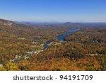Lake Lure In North Carolina In...
