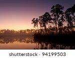 Sunrise At Long Pine Key Lake ...