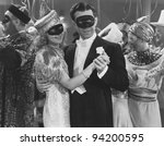 MASQUERADE BALL - stock photo