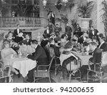 POPULAR ESTABLISHMENT - stock photo