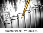 laboratory pipette with... | Shutterstock . vector #94203121