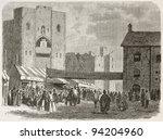 Caernarfon Castle Exterior Vie...