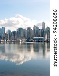 Coal Harbour, Vancouver, Canada - stock photo