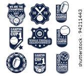 badge set | Shutterstock .eps vector #94211443