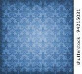 Shaded Blue Damask Background