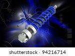 digital illustration of shock... | Shutterstock . vector #94216714
