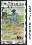 togo   circa 1976  stamp... | Shutterstock . vector #94221655