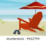 background,beach,birds,chair,clip,coast,destination,element,empty,flip-flops,gradient,grass,green,holiday,idyllic